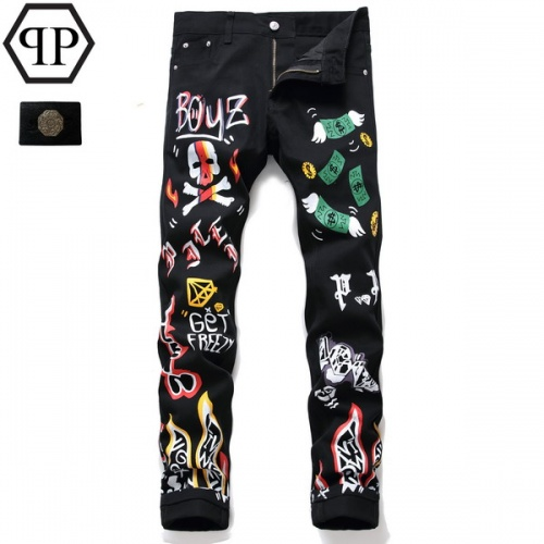 Philipp Plein PP Jeans Trousers For Men #794782