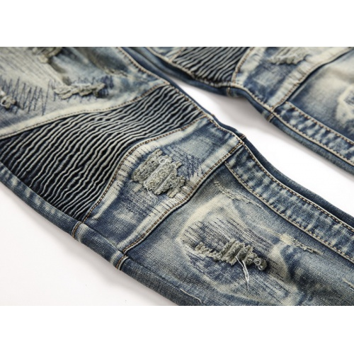 Replica Balmain Jeans Trousers For Men #794785 $52.38 USD for Wholesale