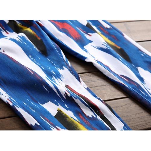 Replica Balmain Jeans Trousers For Men #794786 $52.38 USD for Wholesale