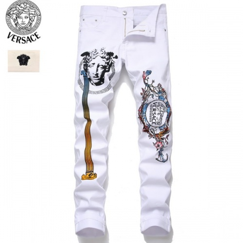 Versace Jeans Trousers For Men #794787 $52.38 USD, Wholesale Replica Versace Jeans