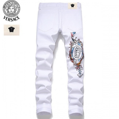 Replica Versace Jeans Trousers For Men #794787 $52.38 USD for Wholesale