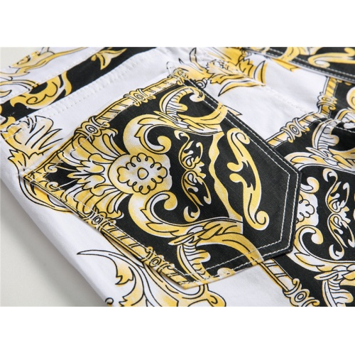 Replica Versace Jeans Trousers For Men #794788 $52.38 USD for Wholesale