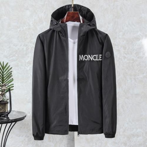 Moncler New Jackets Long Sleeved Zipper For Men #794796