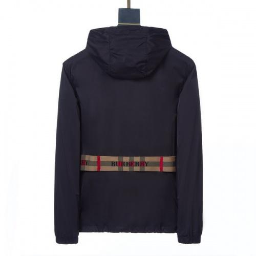 Burberry Jackets Long Sleeved Zipper For Men #794814
