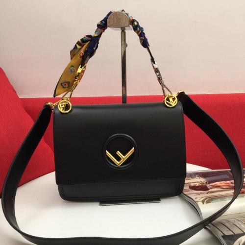 Fendi AAA Quality Shoulder Bags For Women #794896 $105.73 USD, Wholesale Replica Fendi AAA Messenger Bags