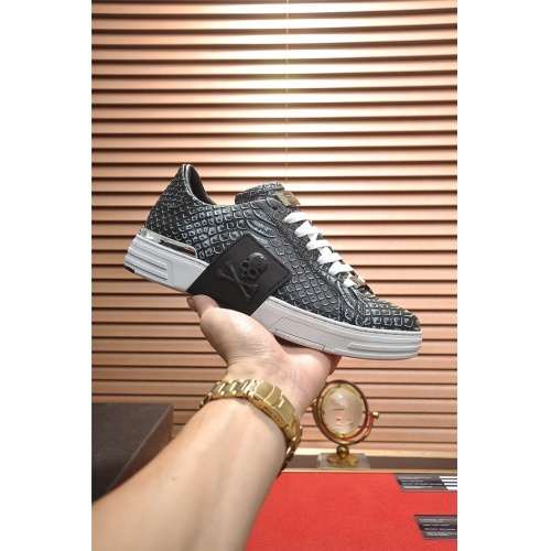 Replica Philipp Plein PP Casual Shoes For Men #794994 $82.45 USD for Wholesale