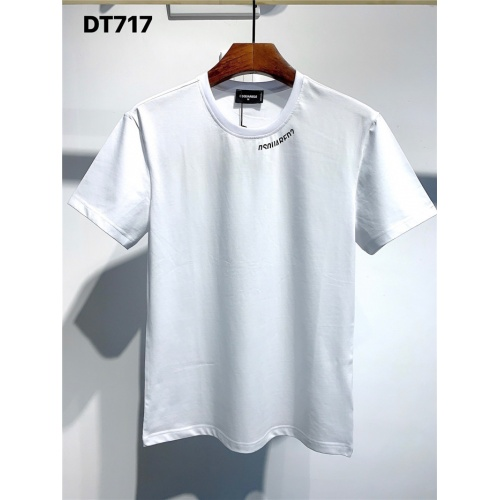 Dsquared T-Shirts Short Sleeved O-Neck For Men #795086 $24.25 USD, Wholesale Replica Dsquared T-Shirts