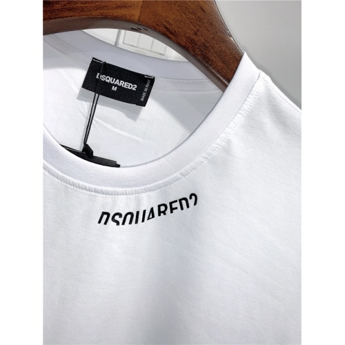 Replica Dsquared T-Shirts Short Sleeved O-Neck For Men #795086 $24.25 USD for Wholesale