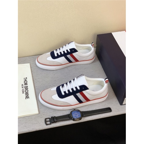 Thom Browne TB Casual Shoes For Men #795173 $73.72 USD, Wholesale Replica Thom Browne TB Casual Shoes
