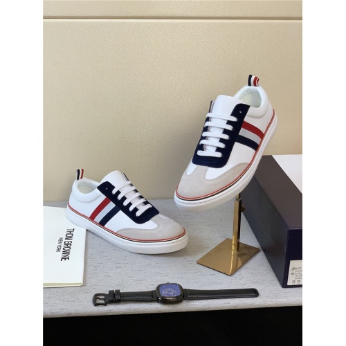 Replica Thom Browne TB Casual Shoes For Men #795173 $73.72 USD for Wholesale