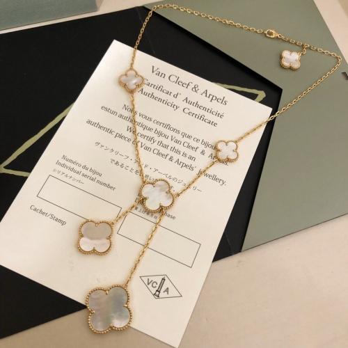 Van Cleef & Arpels Necklaces #795285 $50.44 USD, Wholesale Replica Van Cleef & Arpels Necklaces