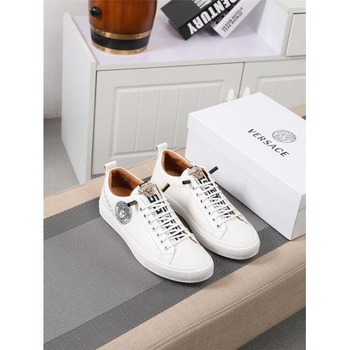 Versace Casual Shoes For Men #795377 $73.72, Wholesale Replica Versace Casual Shoes
