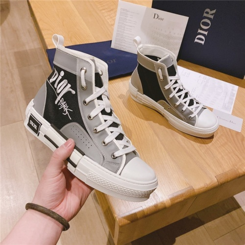 Christian Dior High Tops Shoes For Men #795385