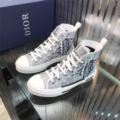 Christian Dior High Tops Shoes For Women #795396 $77.60 USD, Wholesale Replica Christian Dior High Tops Shoes