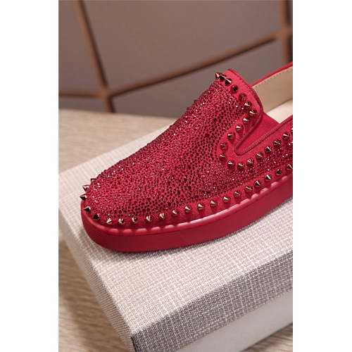 Replica Christian Louboutin CL Casual Shoes For Men #795431 $77.60 USD for Wholesale