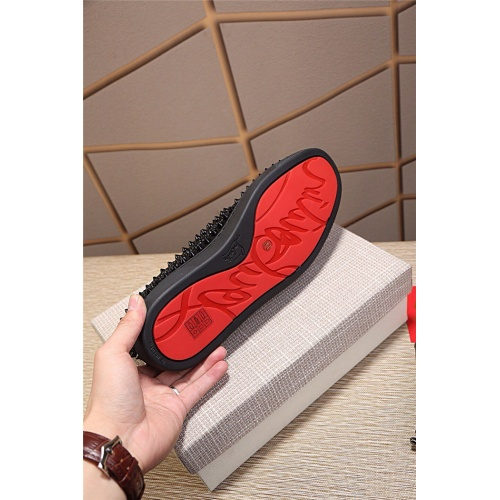 Replica Christian Louboutin CL Casual Shoes For Men #795432 $77.60 USD for Wholesale
