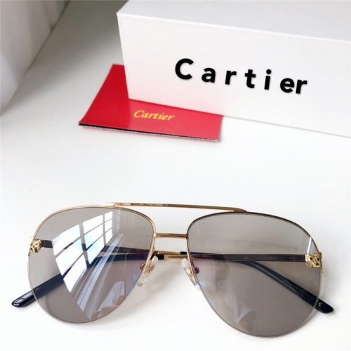Cartier AAA Quality Sunglasses #795434