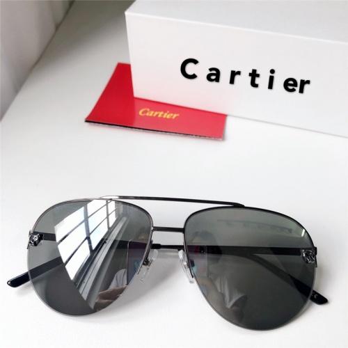 Cartier AAA Quality Sunglasses #795435