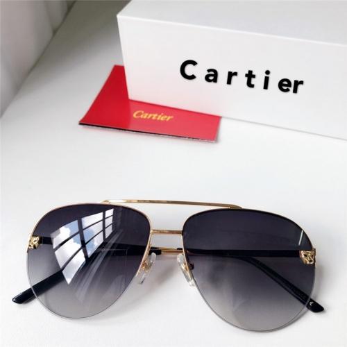 Cartier AAA Quality Sunglasses #795436