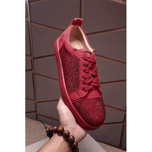 Replica Christian Louboutin CL Casual Shoes For Men #795437 $77.60 USD for Wholesale