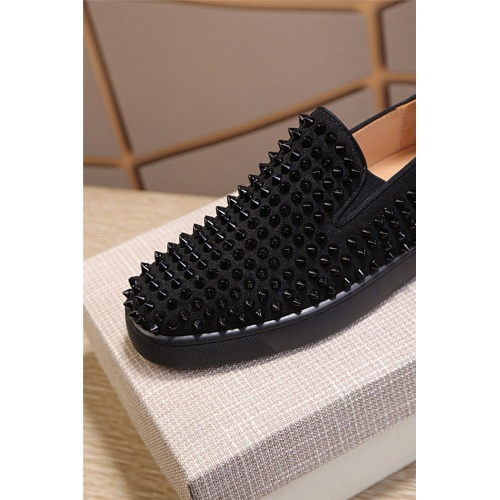 Replica Christian Louboutin CL Casual Shoes For Women #795444 $77.60 USD for Wholesale