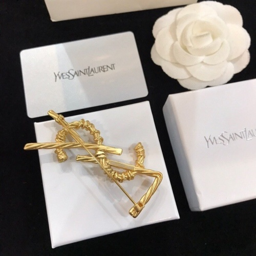 Replica Yves Saint Laurent Brooches #795501 $31.04 USD for Wholesale