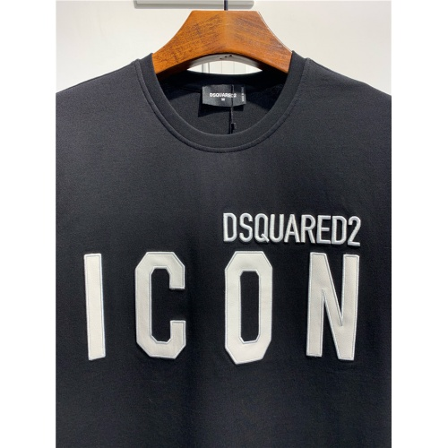 Replica Dsquared T-Shirts Short Sleeved O-Neck For Men #795546 $24.25 USD for Wholesale