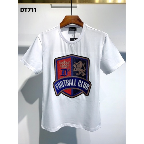 Dsquared T-Shirts Short Sleeved O-Neck For Men #795552 $24.25 USD, Wholesale Replica Dsquared T-Shirts