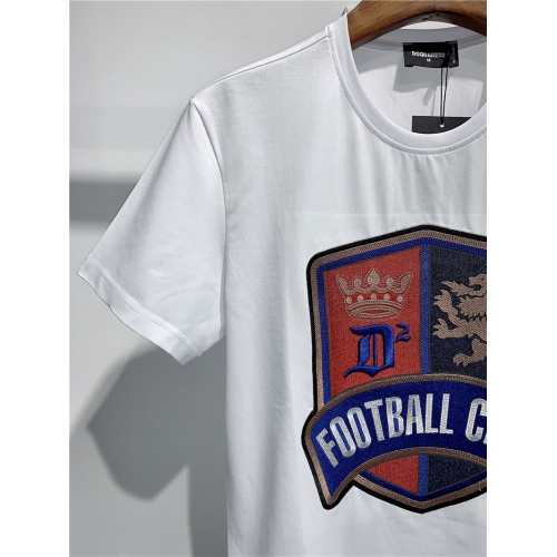 Replica Dsquared T-Shirts Short Sleeved O-Neck For Men #795552 $24.25 USD for Wholesale