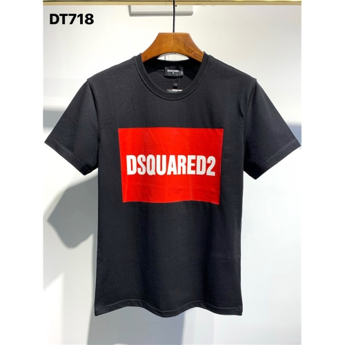 Dsquared T-Shirts Short Sleeved O-Neck For Men #795558 $24.25 USD, Wholesale Replica Dsquared T-Shirts