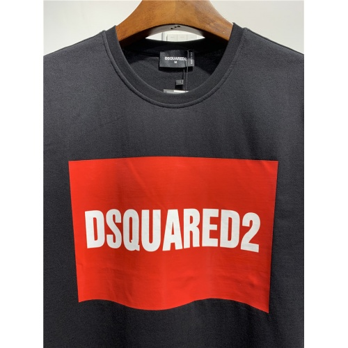 Replica Dsquared T-Shirts Short Sleeved O-Neck For Men #795558 $24.25 USD for Wholesale