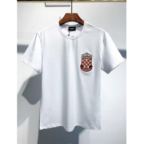 Dsquared T-Shirts Short Sleeved O-Neck For Men #795562 $24.25 USD, Wholesale Replica Dsquared T-Shirts