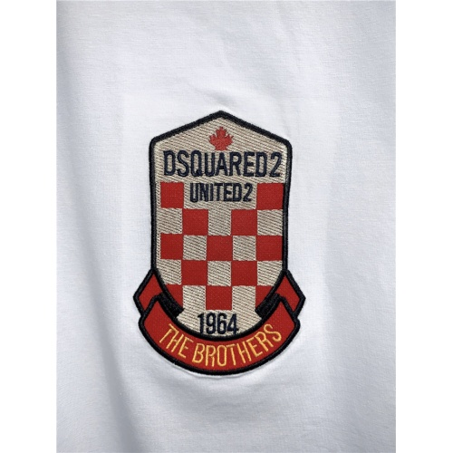 Replica Dsquared T-Shirts Short Sleeved O-Neck For Men #795562 $24.25 USD for Wholesale