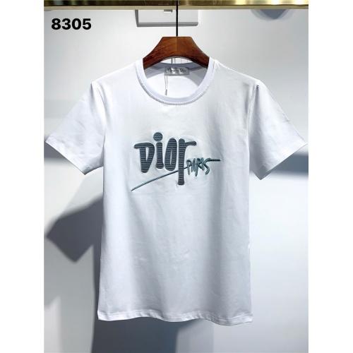 Christian Dior T-Shirts Short Sleeved O-Neck For Men #795569