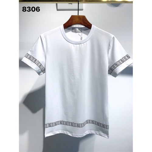 Christian Dior T-Shirts Short Sleeved O-Neck For Men #795571