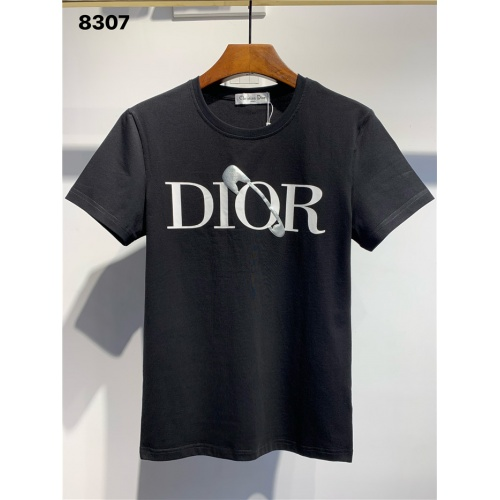 Christian Dior T-Shirts Short Sleeved O-Neck For Men #795580