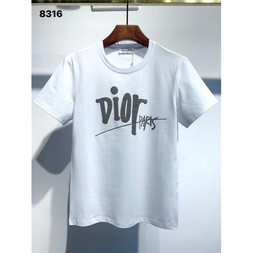 Christian Dior T-Shirts Short Sleeved O-Neck For Men #795583