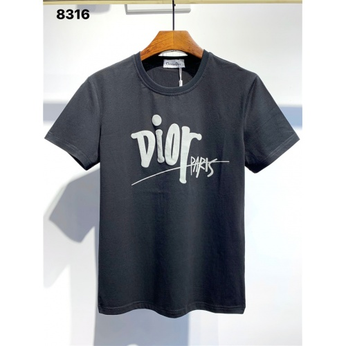 Christian Dior T-Shirts Short Sleeved O-Neck For Men #795584