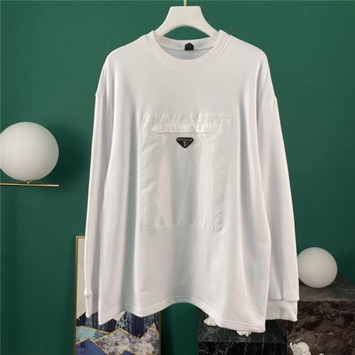 Prada Hoodies Long Sleeved O-Neck For Men #795752