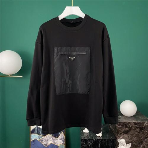 Prada Hoodies Long Sleeved O-Neck For Men #795753
