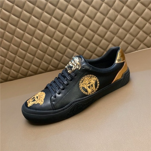 Replica Versace Casual Shoes For Men #795931 $73.72 USD for Wholesale