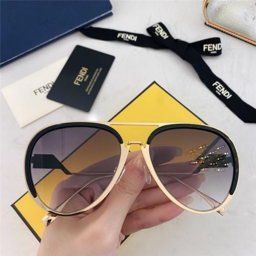 Fendi AAA Quality Sunglasses #795947
