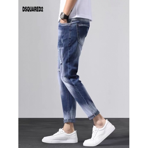 Replica Dsquared Jeans Trousers For Men #796102 $43.65 USD for Wholesale
