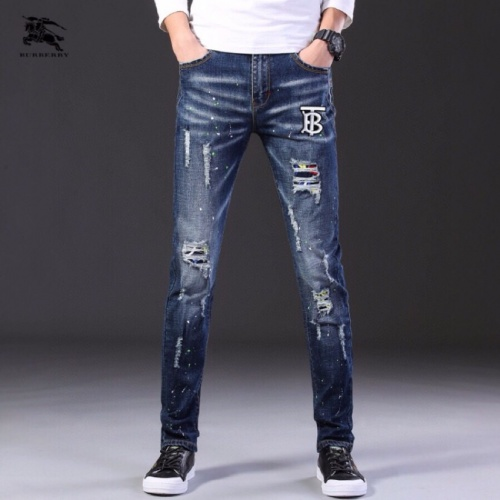 Burberry Jeans Trousers For Men #796110 $43.65 USD, Wholesale Replica Burberry Jeans