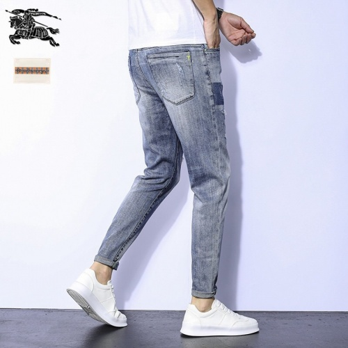 Replica Burberry Jeans Trousers For Men #796111 $43.65 USD for Wholesale