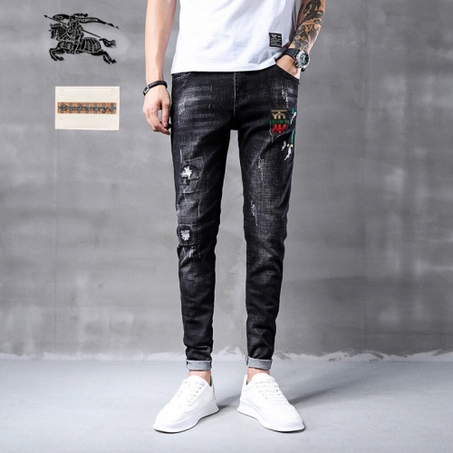 Burberry Jeans Trousers For Men #796113 $43.65 USD, Wholesale Replica Burberry Jeans