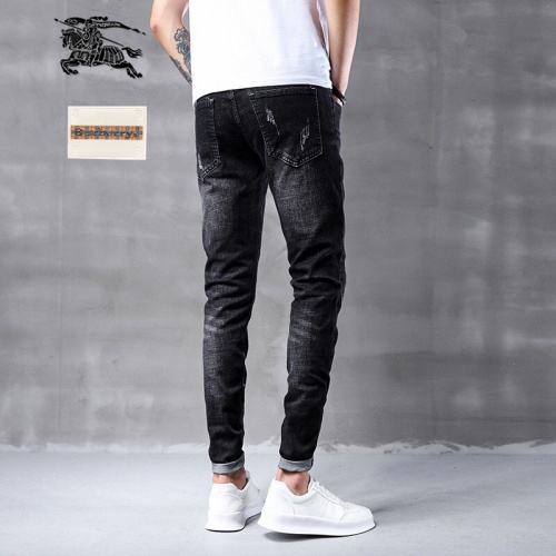Replica Burberry Jeans Trousers For Men #796113 $43.65 USD for Wholesale