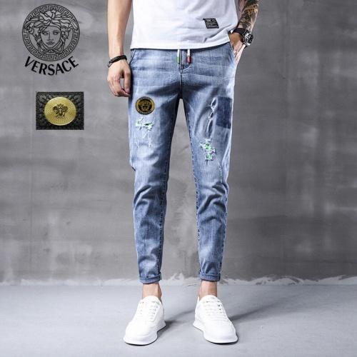 Versace Jeans Trousers For Men #796116 $43.65, Wholesale Replica Versace Jeans