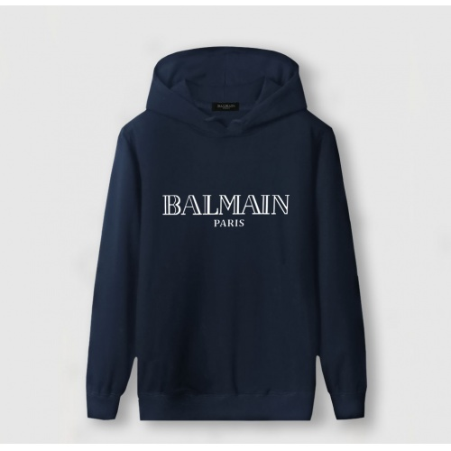 Balmain Hoodies Long Sleeved Hat For Men #796563 $37.83, Wholesale Replica Balmain Hoodies