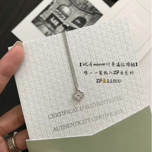 Van Cleef & Arpels Necklaces #796724 $28.13 USD, Wholesale Replica Van Cleef & Arpels Necklaces